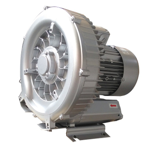 Three Phase Powerful Single Stage Side Channel Blower for Plastic Molding Machine