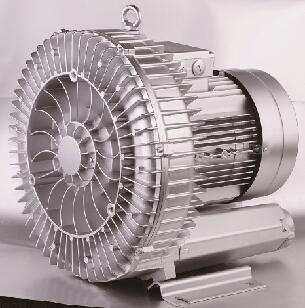 low noise side channel blower for CNC engraving machine